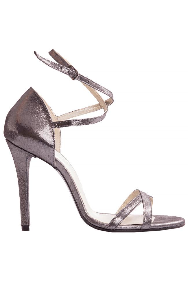 Silver sandals Ana Kaloni image 0