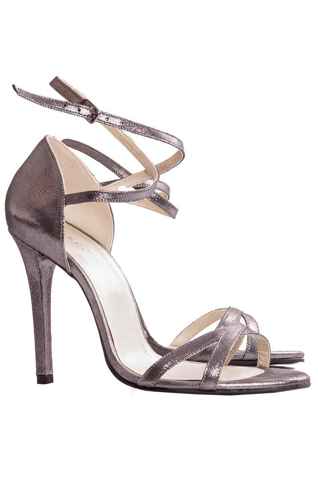 Silver sandals Ana Kaloni image 1