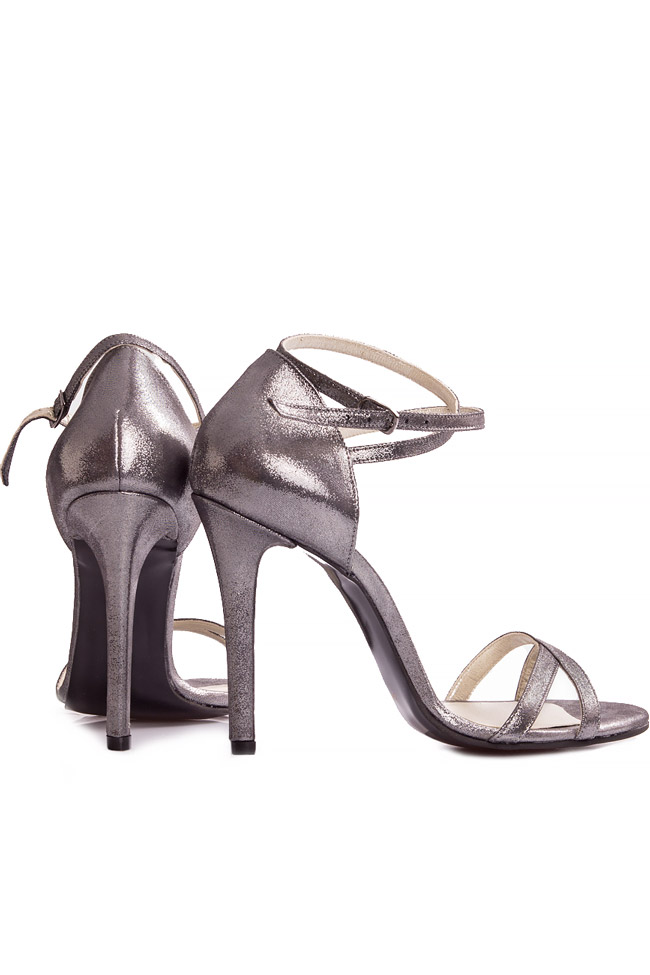 Silver sandals Ana Kaloni image 2