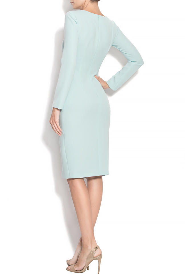 TESSA crepe dress with hand-sewn applications M Marquise image 2