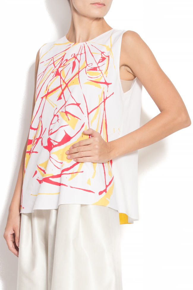 SWIANG SWING bamboo digital-print blouse Argo by Andreea Buga image 1