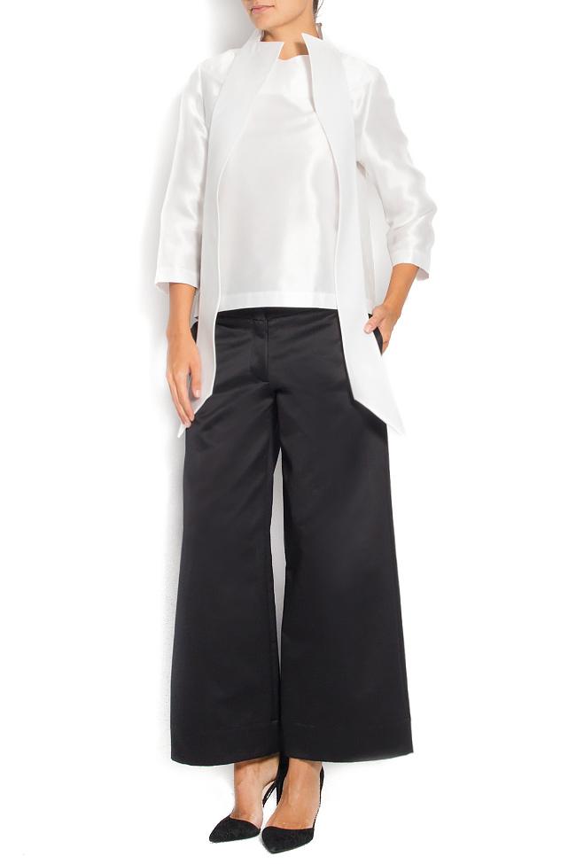 Wide-leg cotton cullotes Daniela Barb image 0