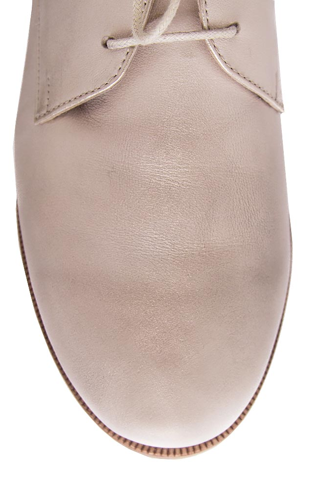 IVORY BOND metallic leather shoes Cristina Maxim image 3