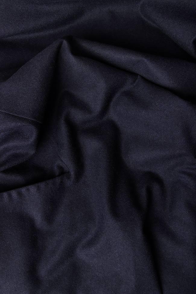 Robe en laine et en cachemire mélangés ABEL   Framboise image 3