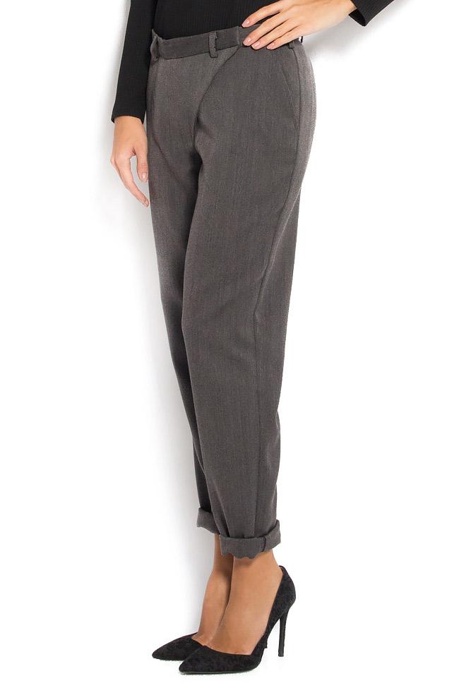 pantalon taille haute en laine pantalons taille haute pantalons sur mesure. Black Bedroom Furniture Sets. Home Design Ideas