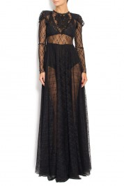 R'Ias Couture Embroidered lace gown