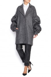 No.23 Oversized wool coat