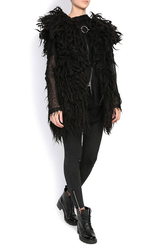 LIANA wool gilet Nicoleta Obis image 0
