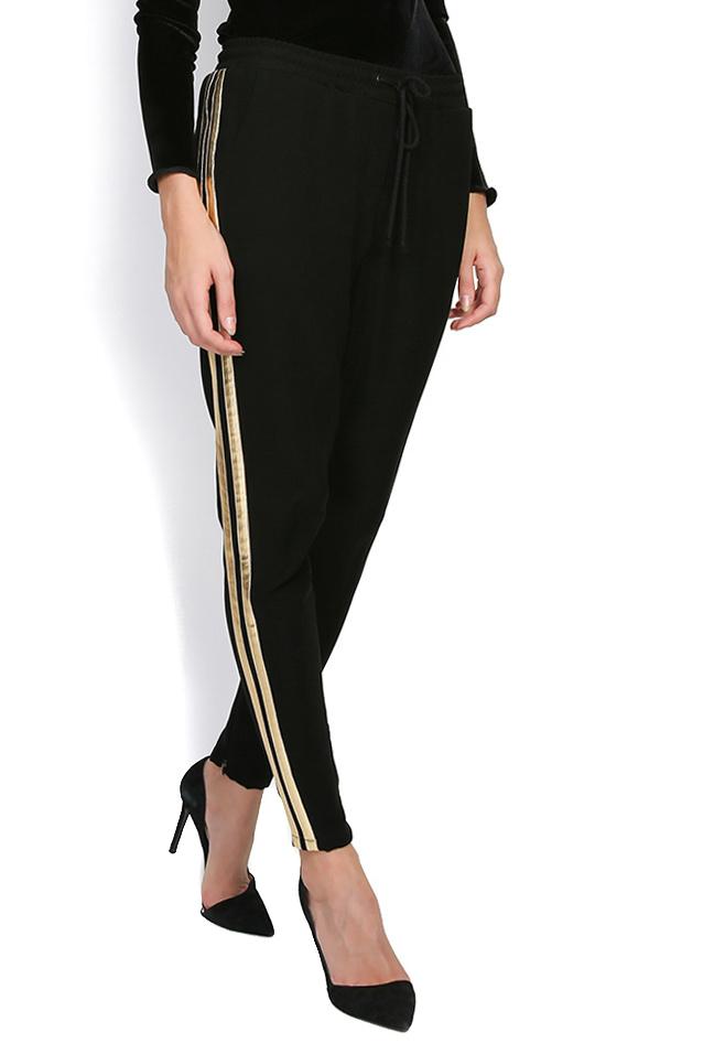 Sharon striped crepe pants Shakara image 1