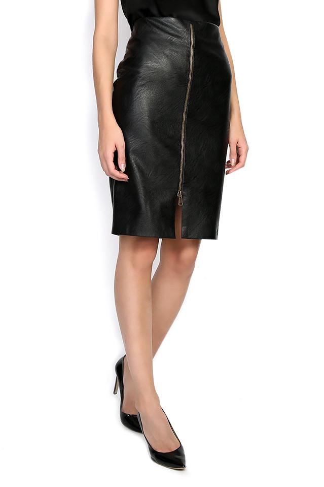 ISABELLA faux leather skirt Shakara image 1