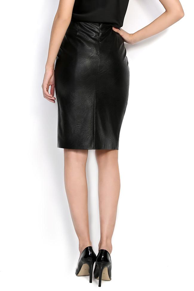 ISABELLA faux leather skirt Shakara image 2
