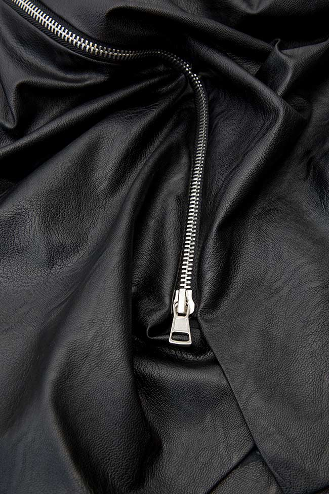 ISABELLA faux leather skirt Shakara image 3