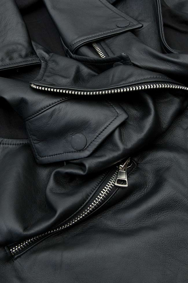 HARPER leather vest Shakara image 3