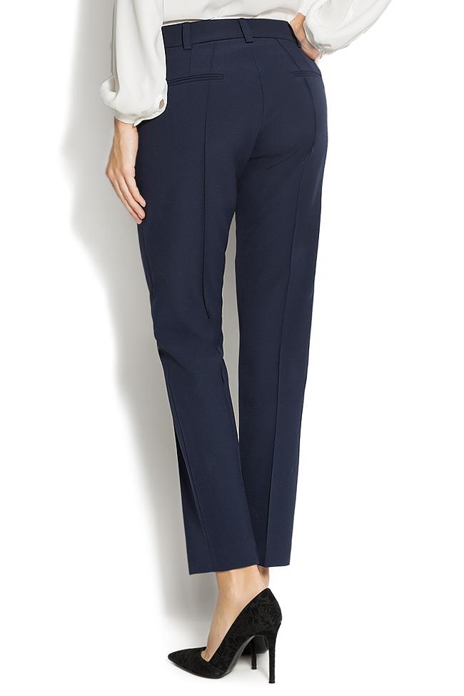 stretch jersey-blend straight-leg pants Lena Criveanu image 2