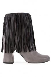 Zenon Fringed leather boots