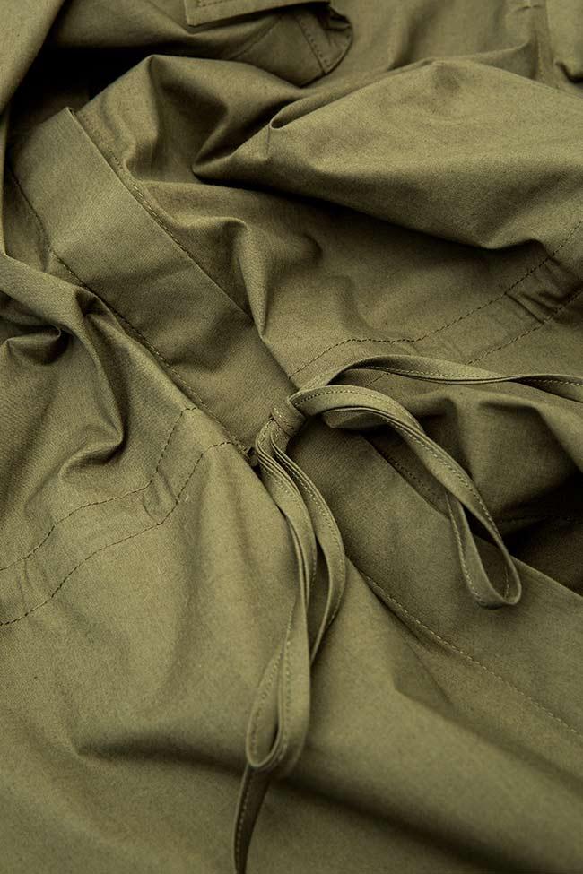 Camasa din bumbac cu snur in talie LINN Shakara imagine 3