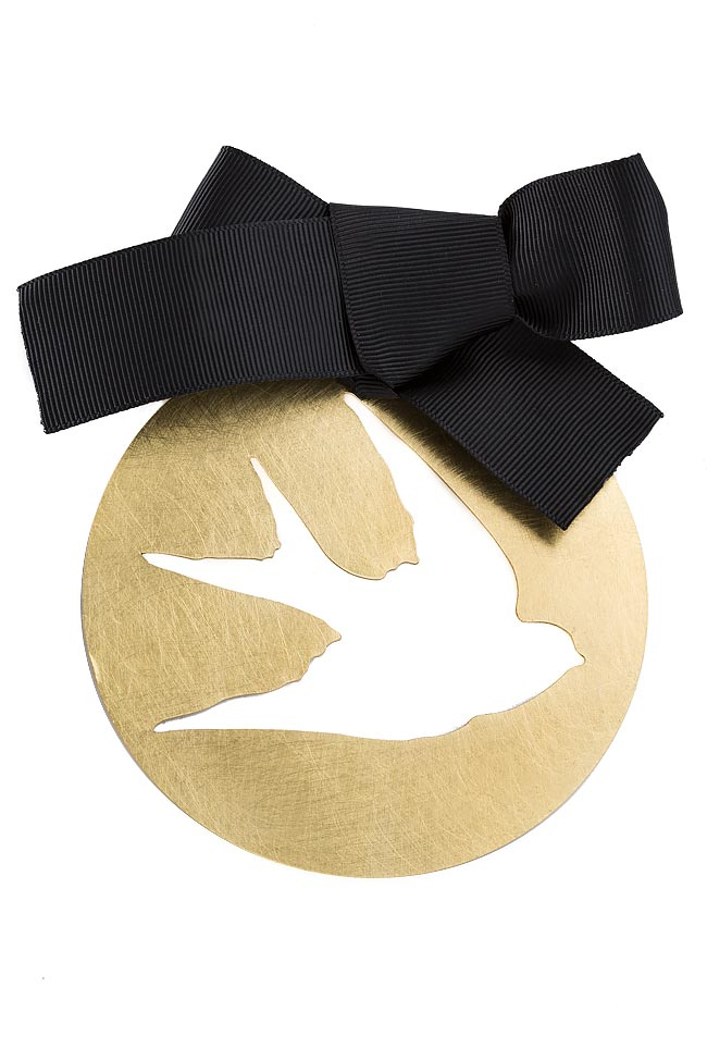 FREE gold-tone brooch Bon Bijou image 0