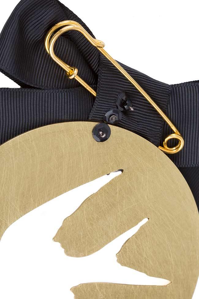 FREE gold-tone brooch Bon Bijou image 2