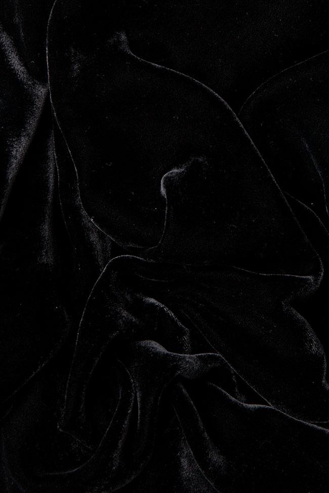 Silk-velvet pants Claudia Castrase image 3