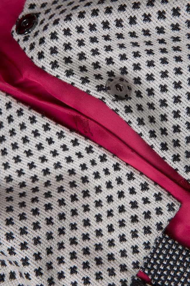 Sacou din lana  Arona Carelli imagine 3