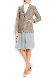Cloche Houndstooth wool blazer