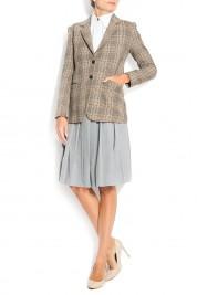 Cloche Houndstooth wool blazer