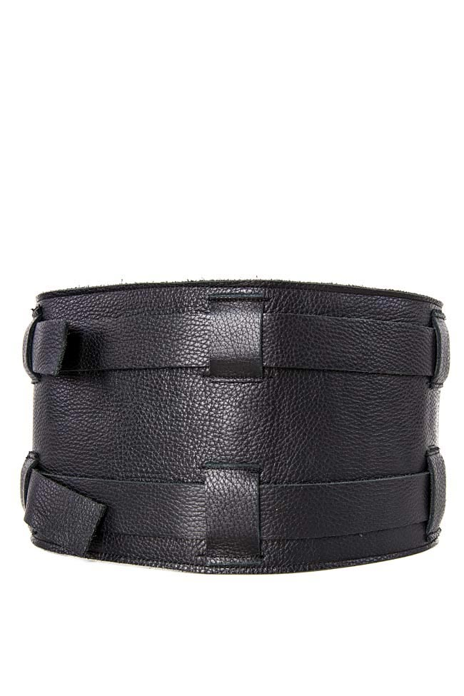 Leather waist belt Zenon image 1