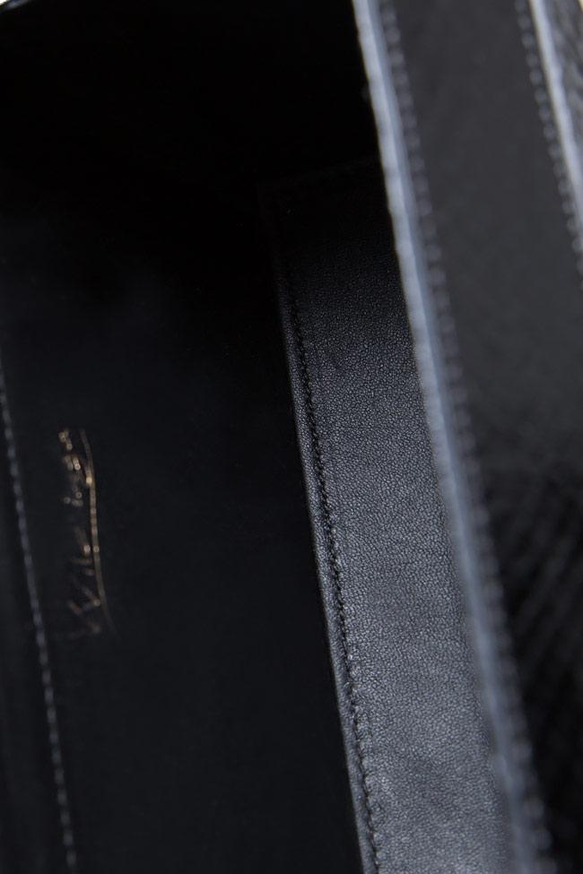 SOFIA box leather clutch Wild Inga image 3