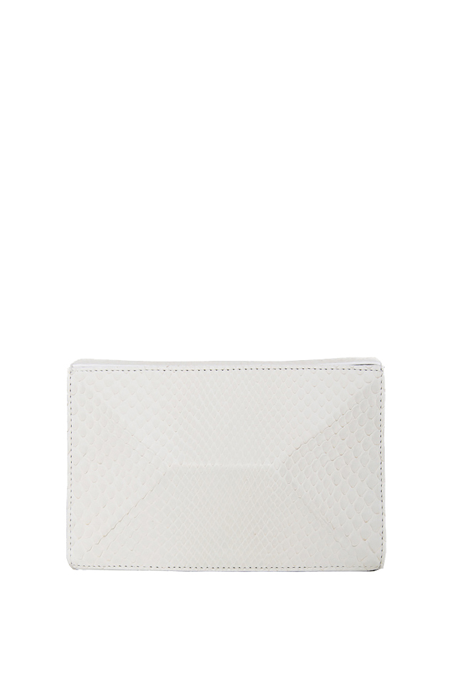SOFIA box leather clutch Wild Inga image 0