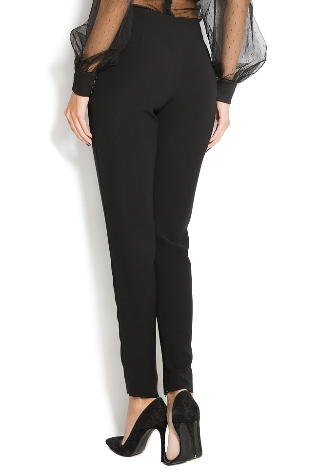 Crepe tapered pants M Marquise image 2