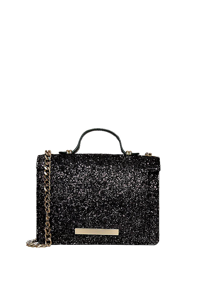 MINI LAUREN glittered leather bag Wild Inga image 0