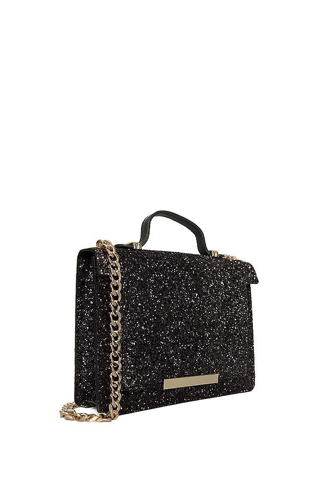 MINI LAUREN glittered leather bag Wild Inga image 1