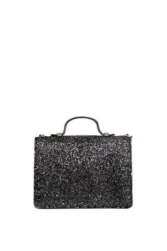 MINI LAUREN glittered leather bag Wild Inga image 2