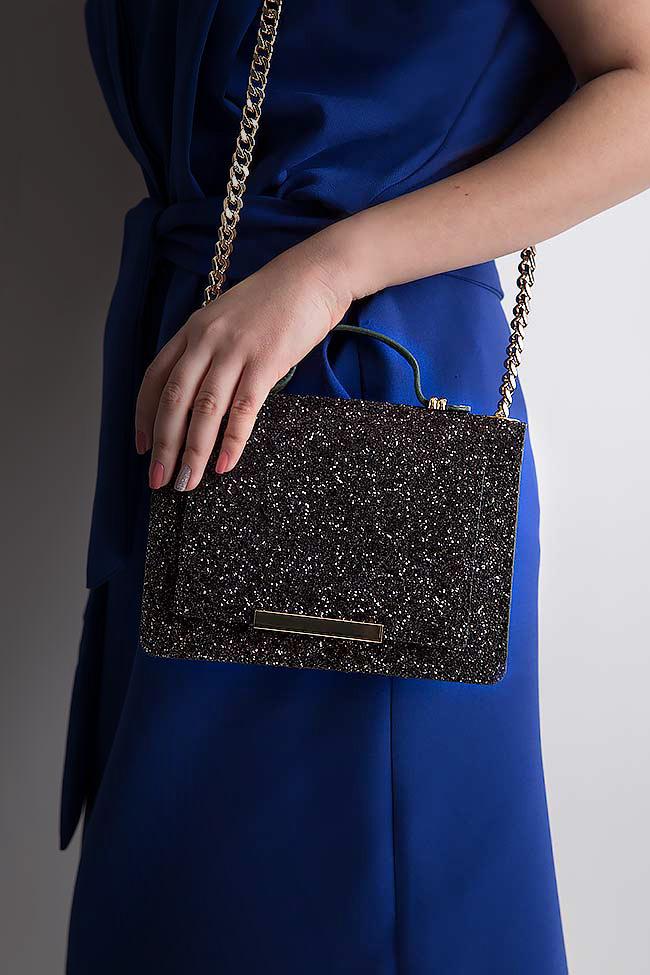 MINI LAUREN glittered leather bag Wild Inga image 4