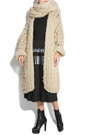 Ioana Ciolacu Knitted wool cardigan
