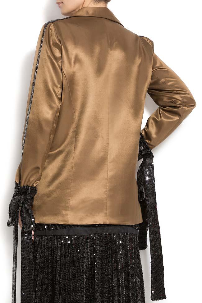 Sacou din matase cu paiete ATU Body Couture imagine 2