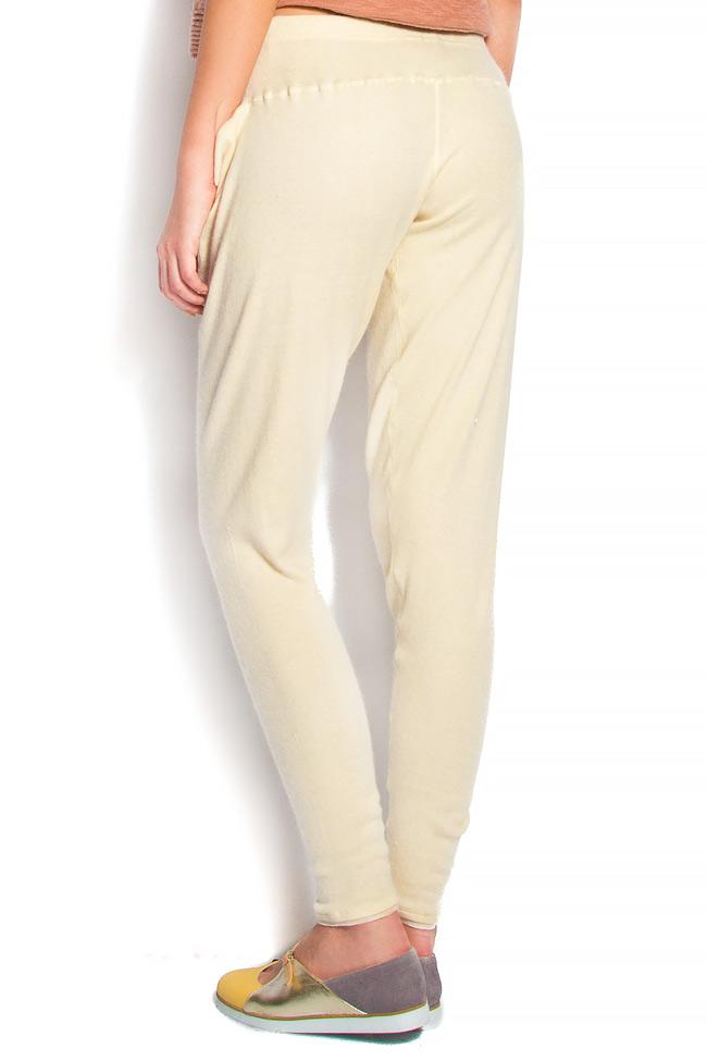 Cotton-blend cigarette type pants Arona Carelli image 2
