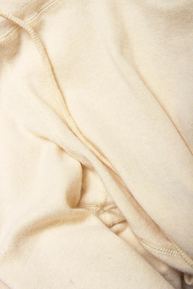 Cotton-blend cigarette type pants Arona Carelli image 3