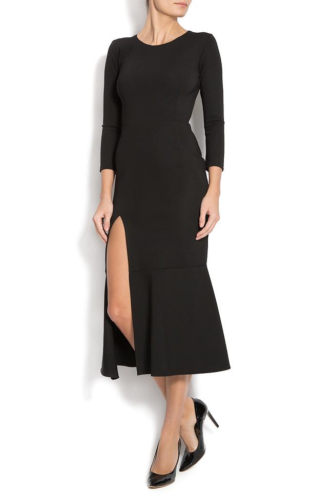 Jersey dress with side slit Izabela Mandoiu image 0