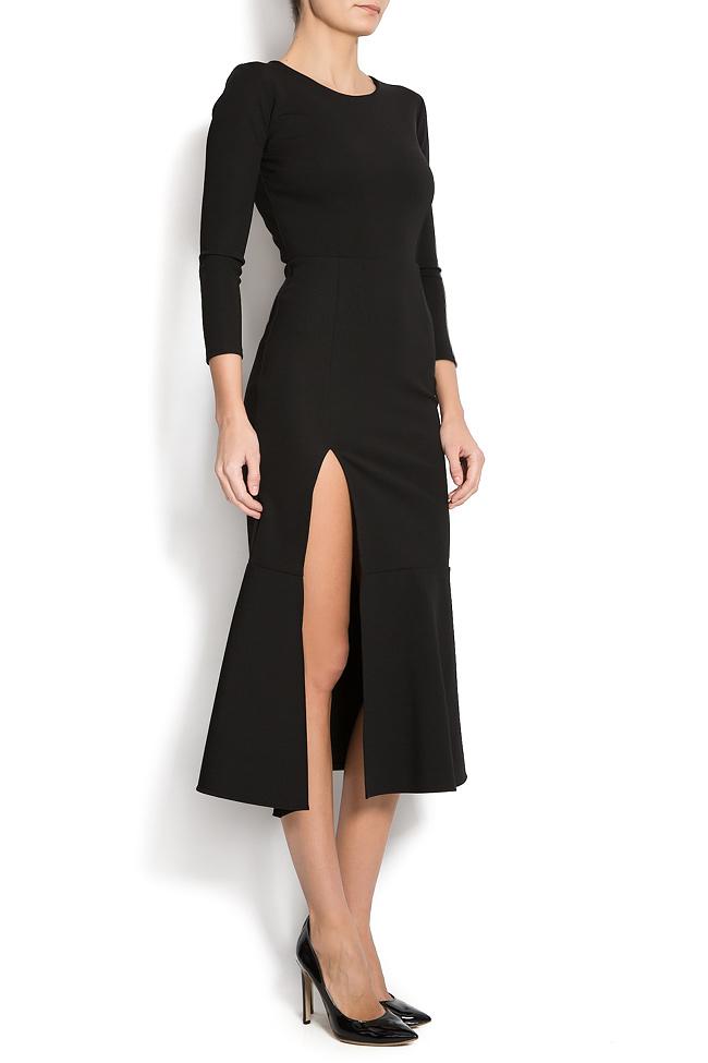 Jersey dress with side slit Izabela Mandoiu image 1