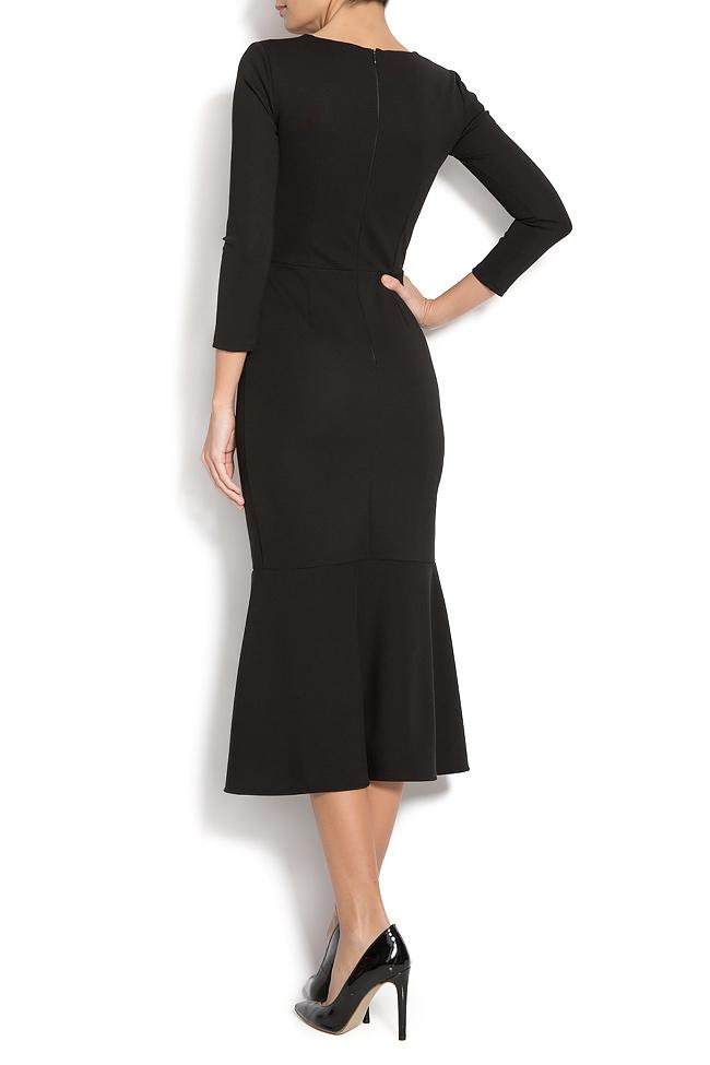 Jersey dress with side slit Izabela Mandoiu image 2