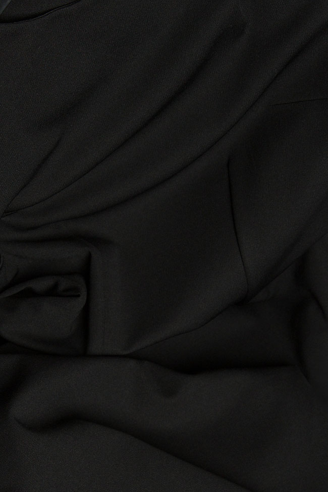 Jersey dress with side slit Izabela Mandoiu image 3