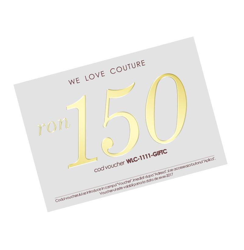 Balonul iubirii cu voucher cadou WE LOVE COUTURE GIFTS imagine 1