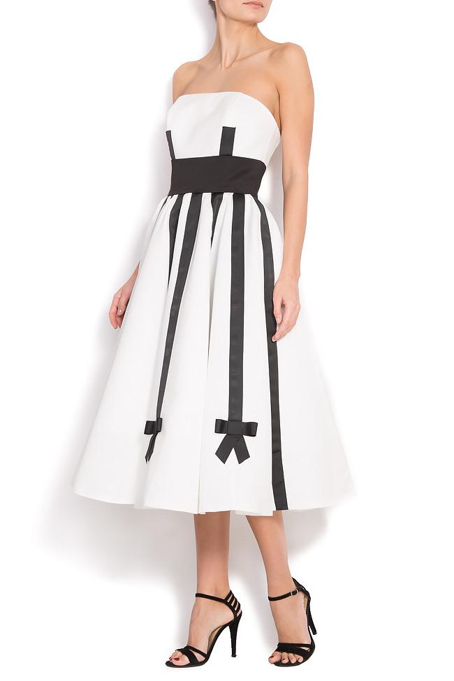 5e7ebbb221fa Duchess silk-satin gown - Midi Dresses made to measure