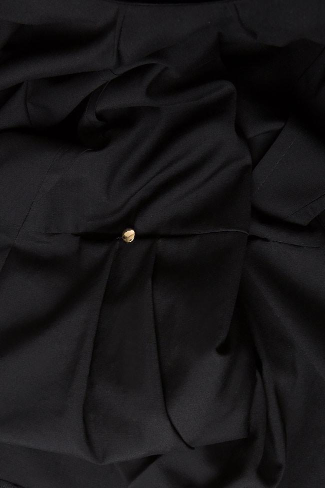 Rochie mini din stofa de lana Lena Criveanu imagine 3