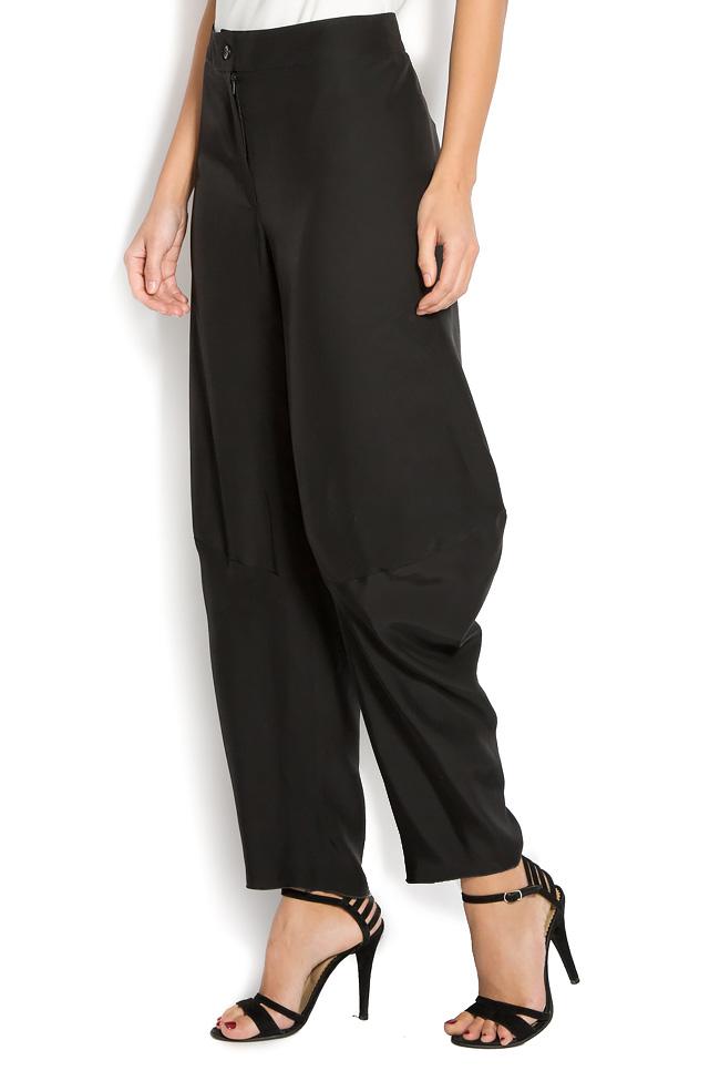 Pantaloni din crep  Lena Criveanu imagine 1
