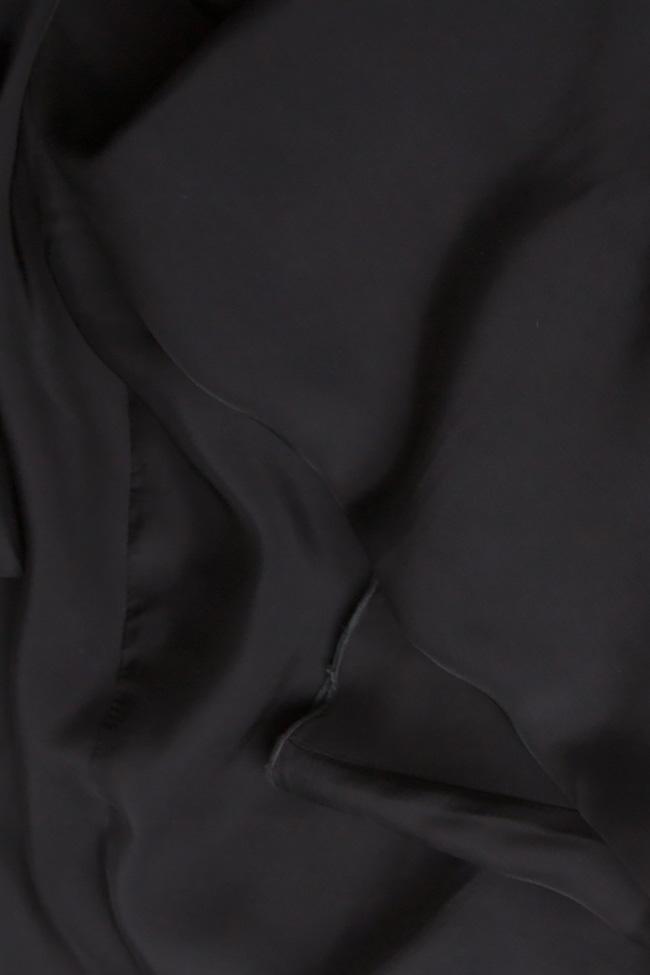 Pantaloni din crep  Lena Criveanu imagine 3