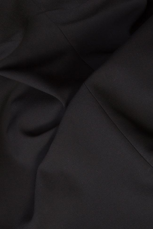 Wrap-effect cotton-blend skirt Claudia Castrase image 3