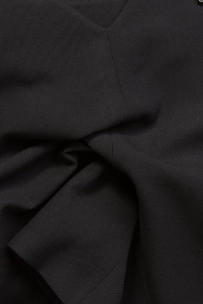 Pantaloni scurti din amestec de bumbac Claudia Castrase imagine 3
