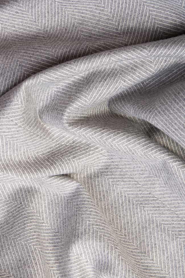 Bluza din amestec de lana Claudia Castrase imagine 3